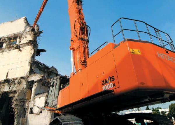 Экскаватор для сноса зданий и сооружений Hitachi ZX480LCK-3 Demolition