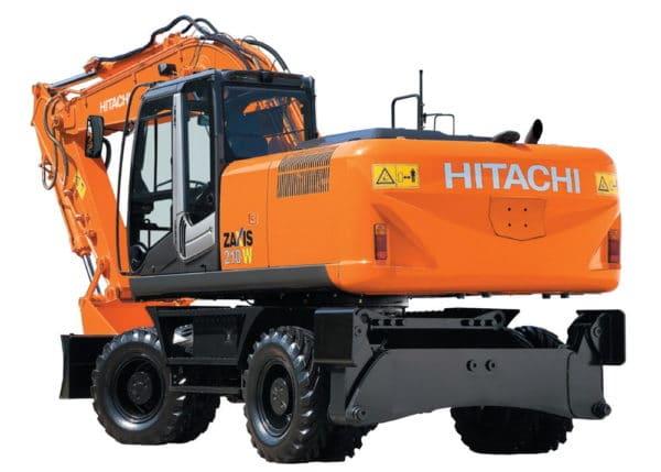 Колесный экскаватор Hitachi ZX210W-3