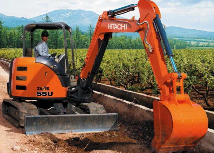 Мини экскаватор Hitachi ZX55U-5A