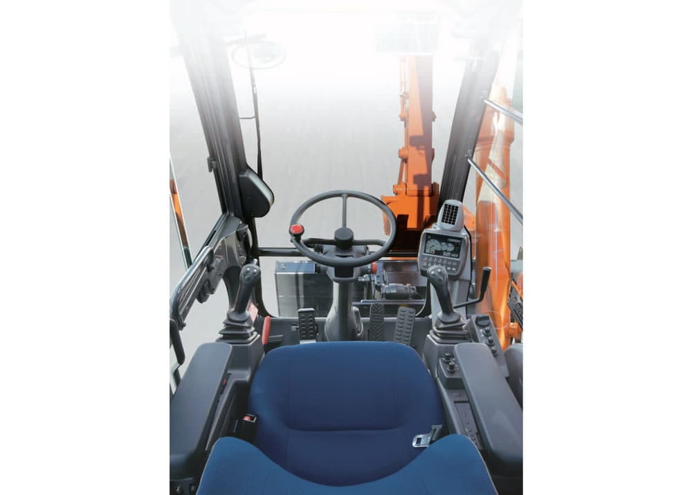 Колесный экскаватор ZX140W-3