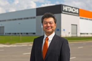 Генеральный директор российского завода Hitachi Сэндзаки Масафуми