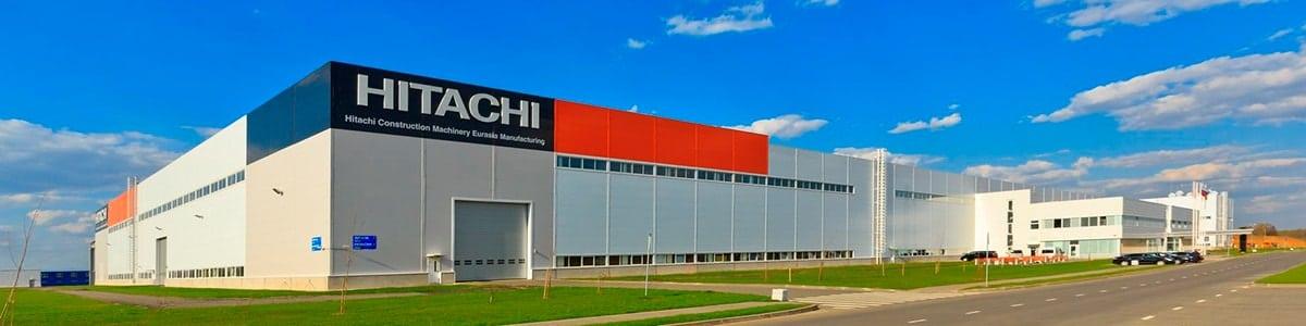 Завод HITACHI в Твери