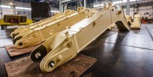 Завод Hitachi в России увеличивает экспорт стрел в Европу