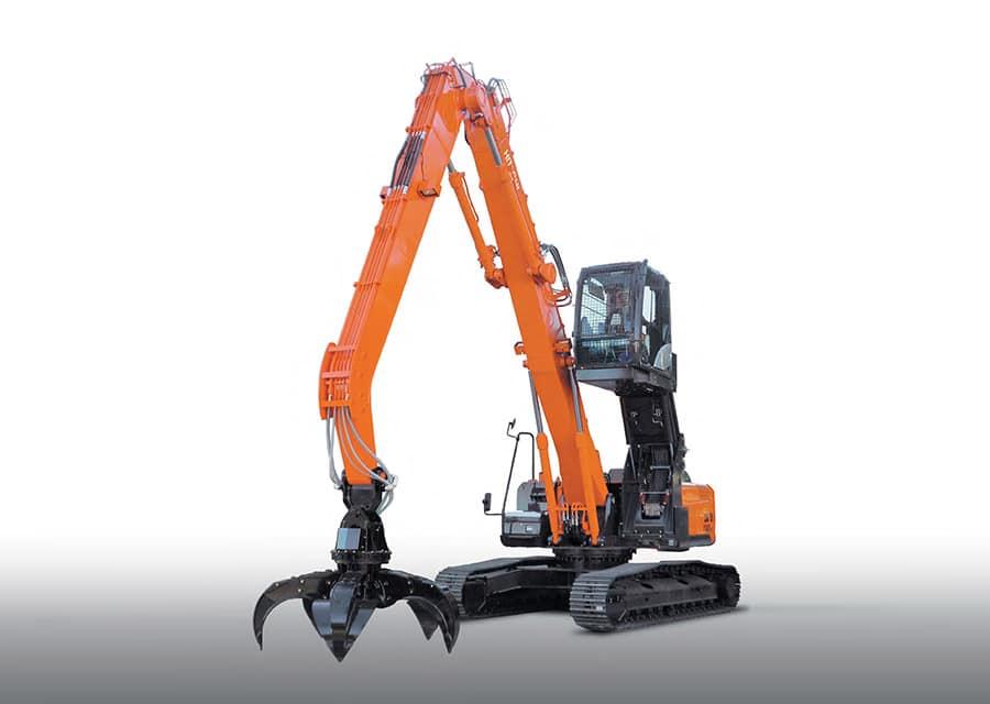 Hitachi ZX240LC-5G - гидравлический гусеничный экскаватор перегружатель