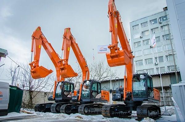 Офис Хит Машинери в Москве - широкий выбор машин HITACHI: экскаватор, фронтальный погрузчик, спецтехника и запчасти