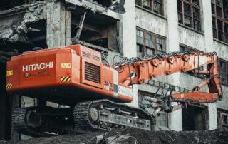 «Демон» на стройплощадке: Hitachi ZX480 LCK глазами специалистов