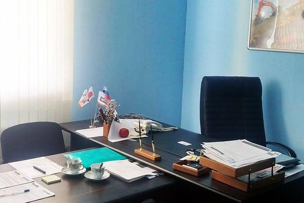 Офис Хит Машинери в Казани, купить экскаватор, фронтальный погрузчик, спецтехнику и запчасти