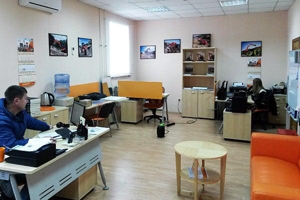 Офис Хит Машинери в Самаре, купить экскаватор, фронтальный погрузчик, спецтехнику и запчасти