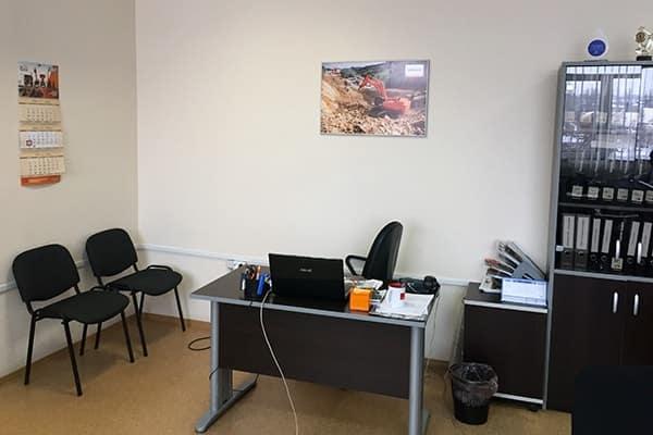 Офис Хит Машинери в Уфе, купить экскаватор, фронтальный погрузчик, спецтехнику и запчасти