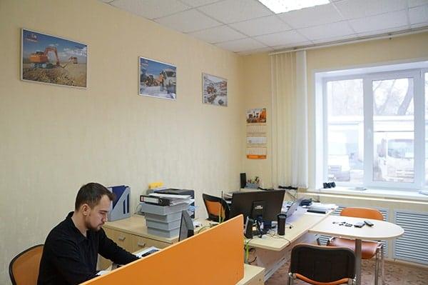 Офис Хит Машинери в Воронеже, купить экскаватор, фронтальный погрузчик, спецтехнику и запчасти