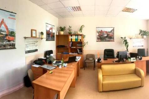 Офис Хит Машинери в Перми, купить экскаватор, фронтальный погрузчик, спецтехнику и запчасти