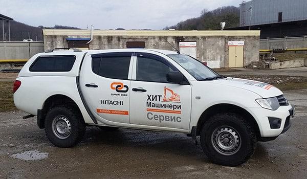 Сервисное обслуживание экскаваторов и фронтальных погрузчиков в Сочи