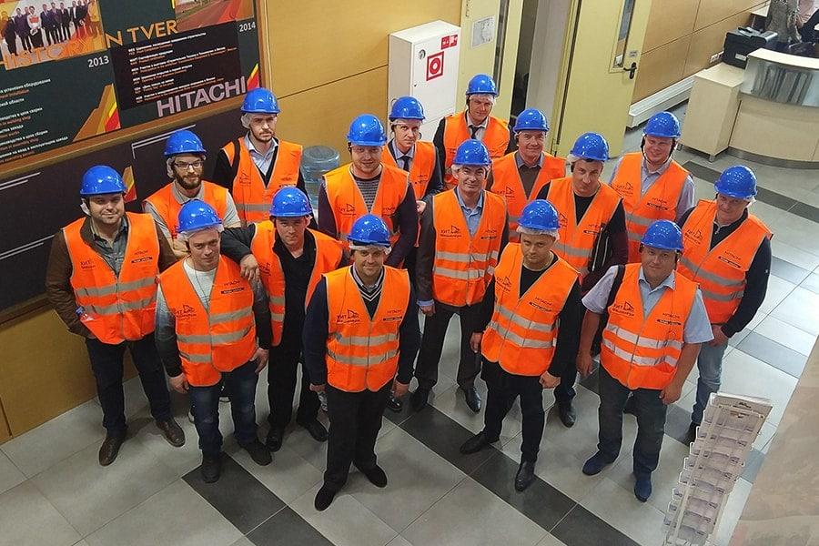 экскурсия на завод Hitachi в Твери