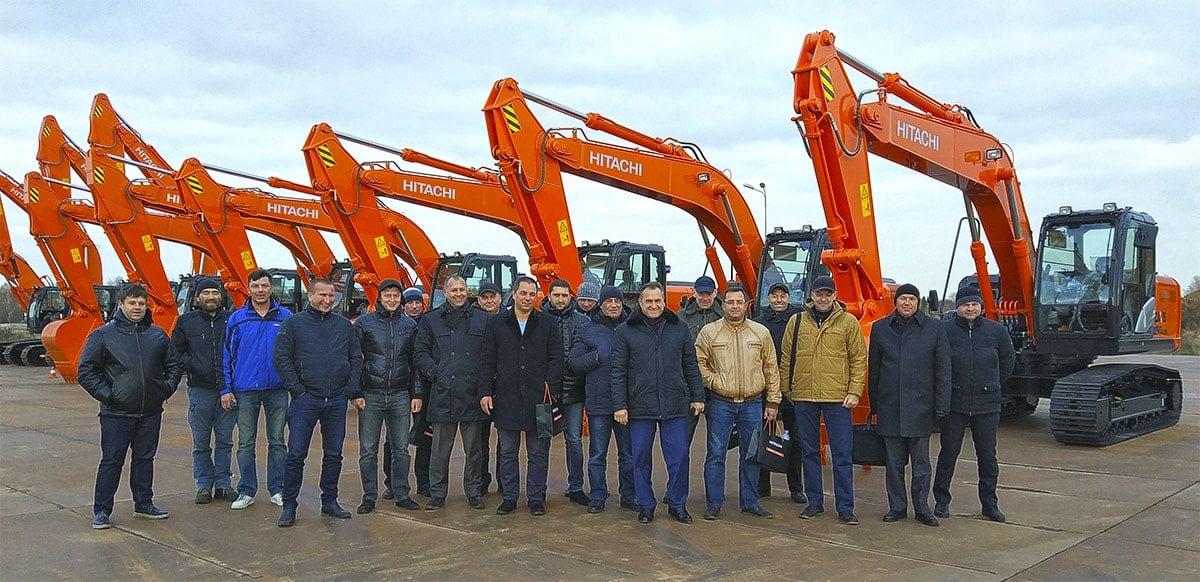 Тур на завод Hitachi в Твери