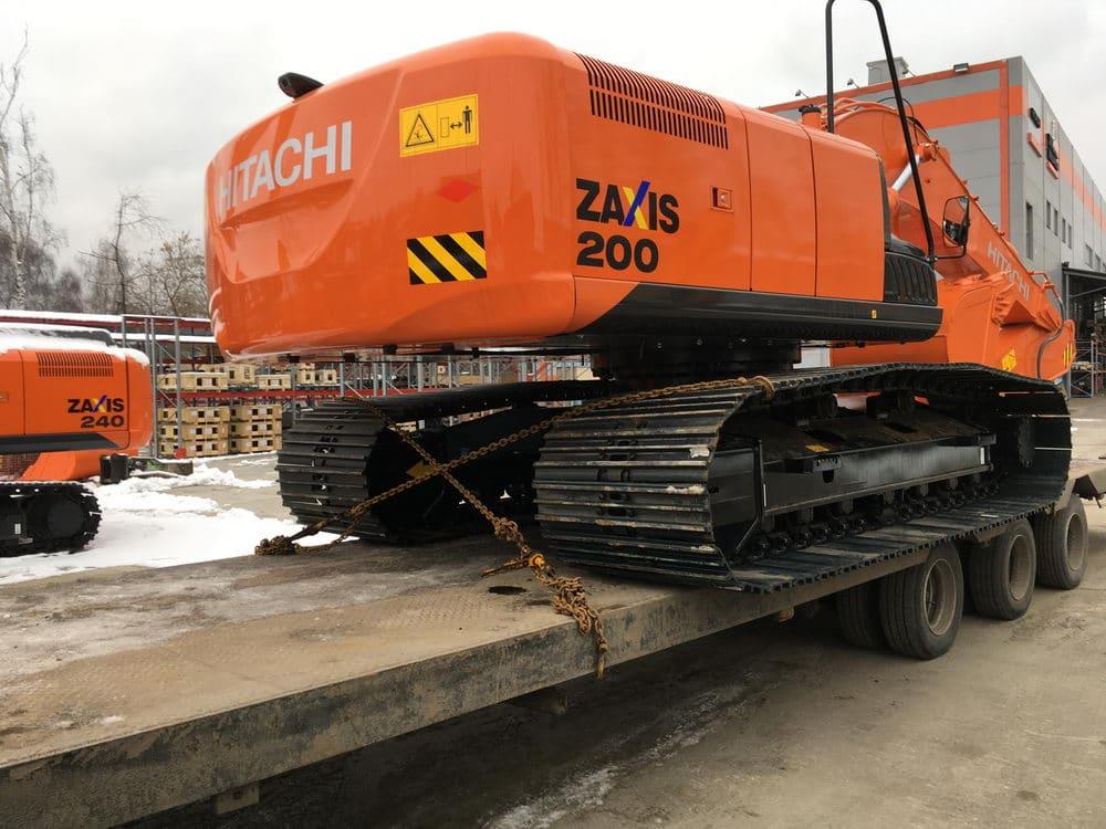 Hitachi ZX200-900 мм - болотный экскаватор