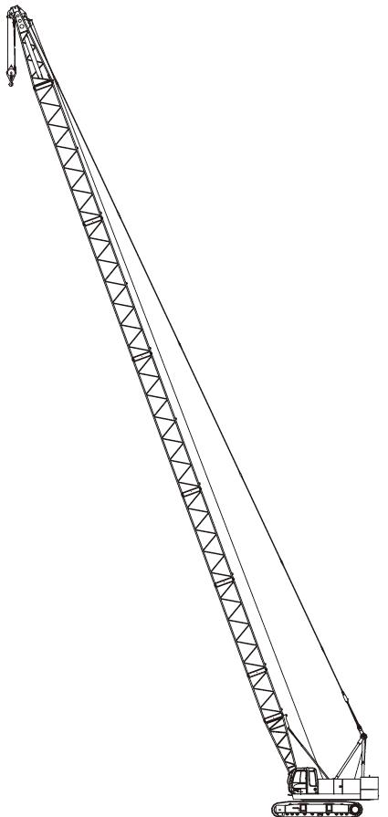 Комплектация крана Hitachi SCX550E