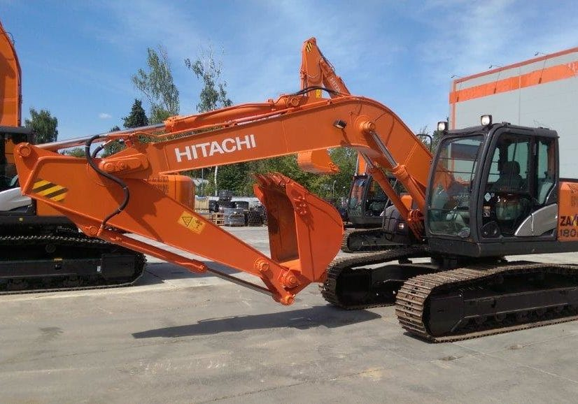 Б/у гусеничный экскаватор Hitachi ZX180LCN-5G