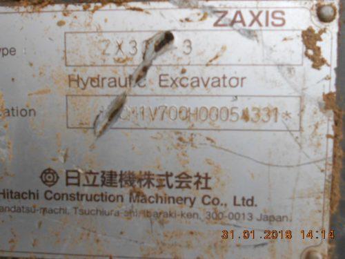 ЭкскаваторHitachi ZX330