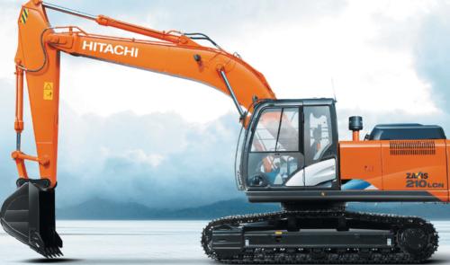 Экскаватор Hitachi ZX210 5G