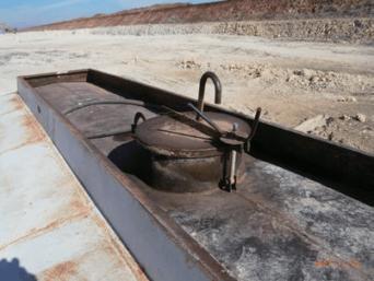 Канал для выпуска воздуха на автоцистерн