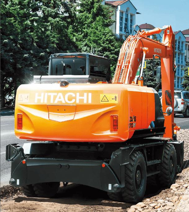 Колесный экскаватор Hitachi ZX170W-5A
