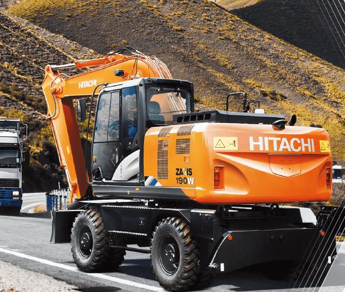 Колесный экскаватор Hitachi ZX190W-5A
