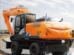 Колесный экскаватор Hitachi ZX210W-5A