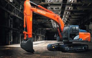 Стартовали продажи новой модели Hitachi ZX210LCN-5A