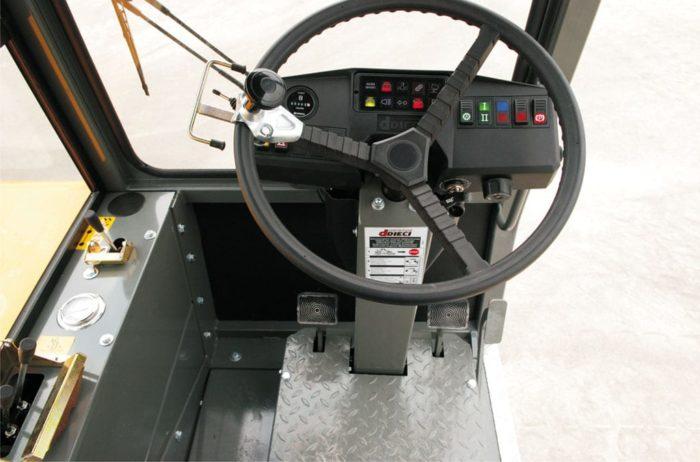 Бетоносмеситель с самозагрузкой DIECI F7000