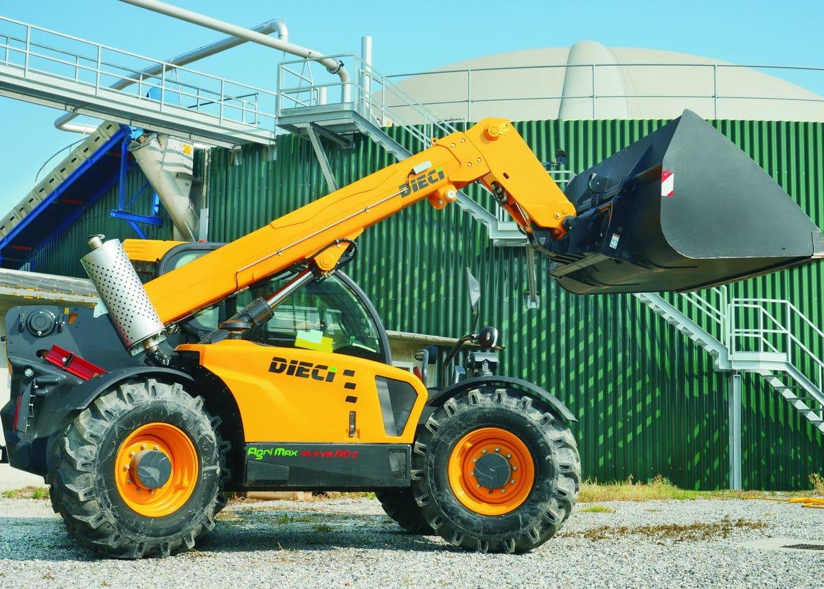 Телескопический погрузчик DIECI AGRI MAX