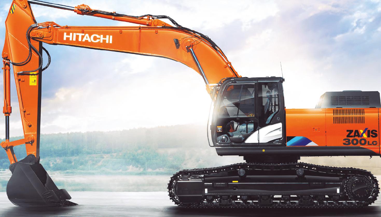 экскаватор среднего класса Hitachi ZX 300 5A