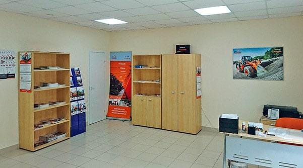 Офис Хит Машинери в Петрозаводске, купить экскаватор, фронтальный погрузчик, спецтехнику и запчасти
