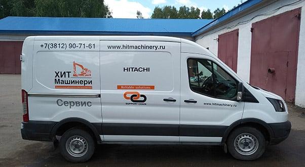 Сервисное обслуживание экскаваторов и фронтальных погрузчиков в Омске
