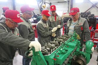 Специалисты «Хит Машинери» прошли тренинг по ремонту дизельных двигателей CUMMINS QSM11