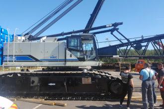 Стреловой кран Hitachi Sumitomo SCX1500A-3 будет работать на порте Усть-Луга